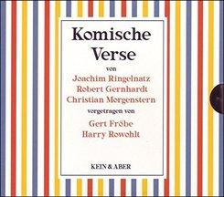 Komische Verse, 3 Audio-CDs