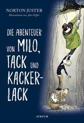 Die Abenteuer von Milo, Tack und Kackerlack (eBook, ePUB)