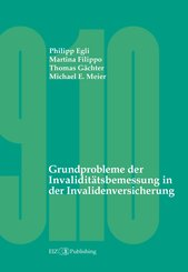 Grundprobleme der Invaliditätsbemessung in der Invalidenversicherung (eBook, PDF)