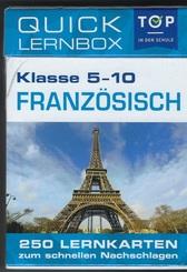 Französisch 5-10 Klasse - Quick Lernbox