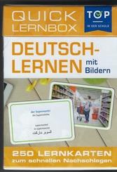 Deutsch lernen mit Bildern - Quick Lernbox