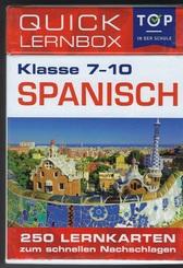 Spanisch 5-10 Klasse - Quick Lernbox