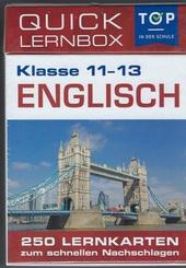 Englisch 11-13 Klasse - Quick Lernbox