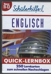 Schülerhilfe - Englisch 11-13 Klasse - Lernbox
