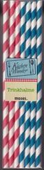 300 Trinkhalme - Aus Papier, Nachhaltig & vielseitig (6 Boxen a 50 Stück)