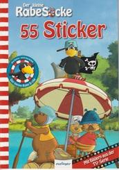 Der kleine Rabe Socke - Stickerheft (55 Sticker)