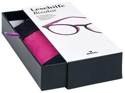 libri_x Lesehilfe Bicolor +3.0 (In den Farben: grün, orange, pink - Farbe nicht wählbar!)
