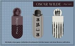 Magnetlesezeichen Oscar Wilde (3er Set)