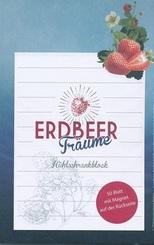 Kühlschrankblock - Erdbeerträume
