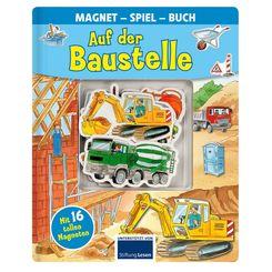 Auf der Baustelle - Magnet-Spiel-Buch