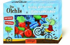 Die Olchis - Krötig klackernde Fahrradklicker (30 Stück)