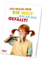 Pippi Langstrumpf Poster - Pippi ißt Spaghetti