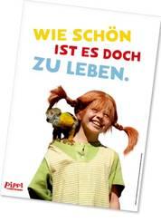Pippi Langstrumpf Poster - Pippi und Herr Nilsson