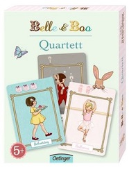 Quartett Kartenspiel - Belle & Boo Motive