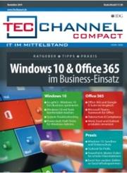 Tecchannel compact 11/2019 - Windows 10 und Office 365 im Business-Einsatz