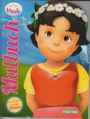 Heidi - Malbuch
