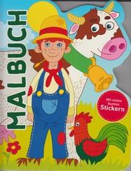 Malbuch - Bauernhof