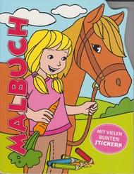 Malbuch - Ponys