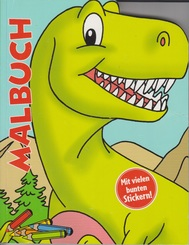 Malbuch - Dinosaurier