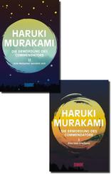 Haruki Murakami Buchpaket - Die Ermordung des Commendatore I+II  (2 Bücher)