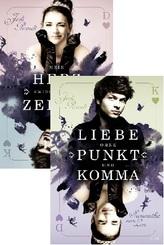 Mein Herz zwischen den Zeilen & Liebe ohne Punkt und Komma (2 Bücher)