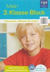 Mein 3. Klasse-Block - Deutsch, Mathe & mehr Lernblock