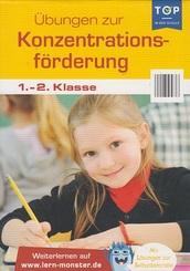 Übungen zur Konzentrationsförderung - 1.-2. Klasse - Lernblock