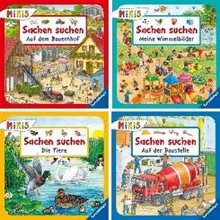 Ravensburger Minis - Sachen suchen (4 Hefte)