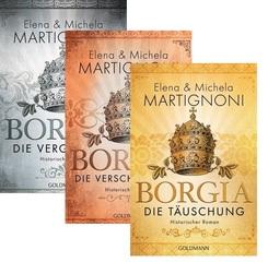 Borgia - Die komplette Trilogie (3 Bücher)