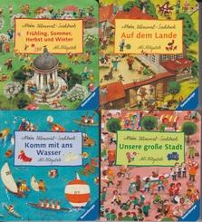 Mein Wimmel-Suchbuch Paket - 4 Mini-Pappbilderbücher