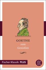Goethe zum Genießen (eBook, ePUB)