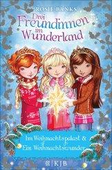 Drei Freundinnen im Wunderland. Im Weihnachtspalast & Ein Weihnachtswunder (eBook, ePUB)