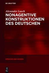 Nonagentive Konstruktionen des Deutschen (eBook, ePUB)