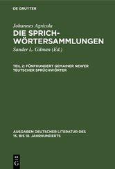 Fünfhundert gemainer newer teutscher Sprüchwörter (eBook, PDF)
