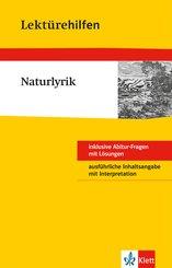 Klett Lektürehilfen - Naturlyrik (eBook, ePUB)