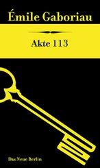 Akte 113 (eBook, ePUB)
