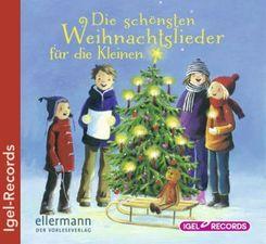 Die schönsten Weihnachtslieder für die Kleinen, 1 Audio-CD