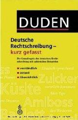 Duden, Deutsche Rechtschreibung kurz gefasst (eBook, PDF)