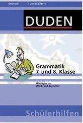 Grammatik 7. und 8. Klasse (eBook, PDF)