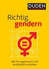 Richtig gendern (eBook, PDF)