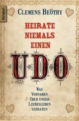 Heirate niemals einen Udo - Gratis Probekapitel (eBook, ePUB)