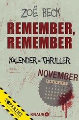 Remember, remember (eBook, ePUB)