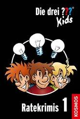 Die drei ??? Kids, Ratekrimis 1 (drei Fragezeichen Kids) (eBook, ePUB)