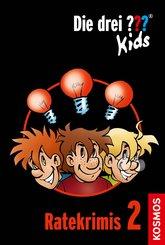 Die drei ??? Kids, Ratekrimis 2 (drei Fragezeichen Kids) (eBook, ePUB)