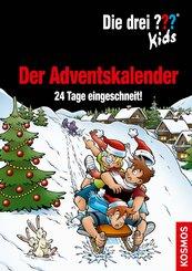 Die drei ??? Kids, Der Adventskalender (drei Fragezeichen Kids) (eBook, PDF)