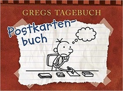 Gregs Tagebuch - Postkartenbuch