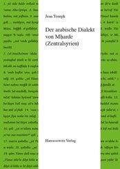 Der arabische Dialekt von Mharde (Zentralsyrien) (eBook, PDF)