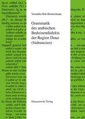 Grammatik des arabischen Beduinendialekts der Region Douz (Südtunesien) (eBook, PDF)
