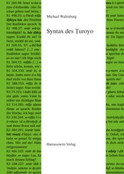 Syntax des Turoyo (eBook, PDF)