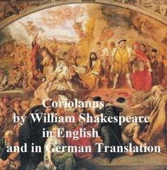 Coriolanus, Bilingual Edition (English with line numbers and German translation) (eBook, ePUB)